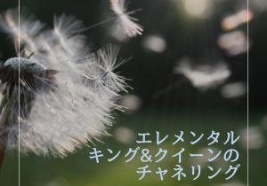 エレメンタルキング&クイーンのチャネリング(~9/24期間限定、無料モニター募集中!!)_風
